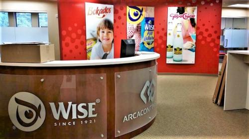 Wise Foods Main Lobby
