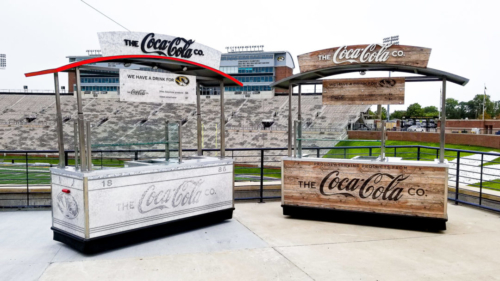 Coca Cola Booths / Missouri Tigers Stadium