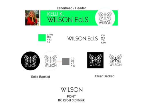 KK Wilson Brand Book