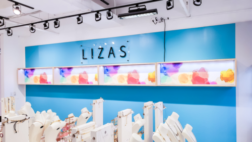 Liza's Independent Store Build Out / Merchandise Mart, Atlanta GA