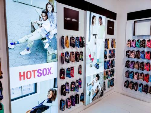 HotSox Independent Store Build Out / Merchandise Mart, Atlanta GA
