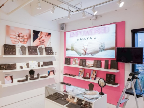 Maya J's Independent Store Build Out / Merchandise Mart, Atlanta GA
